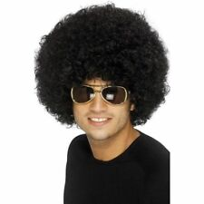 Small Men's  Afro Wigs Stage Party Funky Wig Fancy Dress Club Disco Fun