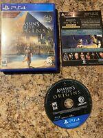 Assassin's Creed: Origins - (Sony PlayStation 4, 2017)