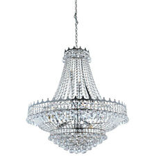 Searchlight 9112-82CC Versailles 13 Light Crystal Chandelier Polished Chrome