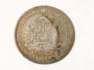 1954 Venezula Venezuelan Un Bolivar Coin #T38