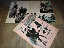 PETITES FEMMES ET HAUTE FINANCE a ekberg desmarets scenario  presse cinema 1962
