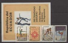 Olympiade 1984, Olympic Games - Ecuador - ** MNH
