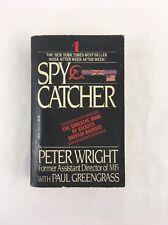 Spy Catcher MI5 Peter Wright Paul Greengrass Paperback