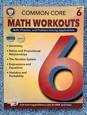 Mark Twain - Common Core Math Workouts, Grade 6 by Keegen Gennuso & Karise Mace
