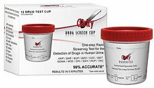 Drug Test Cup, 12 Different Drugs Screening Urine Test, 5 minute
