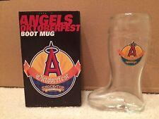 NEW Los Angeles Anaheim Angels Oktoberfest Boot Mug SGA 10/25/2015