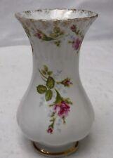 "CHODZIEZ Poland MOSS ROSE CHZ14 pattern Vase - 6-1/4"""