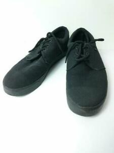 tuk  Us10 Cotton A7557 Size US10 Black Low cut sneaker 3070 From Japan