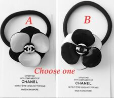 Chanel 3D Camellia Flower VIP Gift Hair Tie RARE! CHOOSE ONE