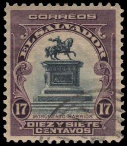 EL SALVADOR 407 - Gerardo Barrios Monument (pb37193)