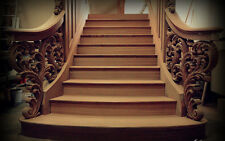 Staircase design service , with woodcarving and staircase sculpture