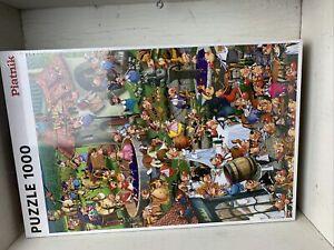 """Piatnik """"Story of Wine"""" 1000 Pieces Jigsaw Puzzle 26.7"""" x 18.8"""" New Sealed"""