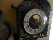 Wrought Iron Miller Heirlooms Inc Los Angeles Hamburg Pendulum Clock Germany