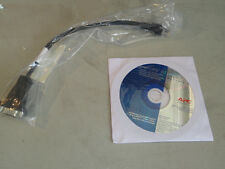 C4:  New APC Smart-UPS RT User Manual CD-ROM with cable
