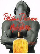 PUBLICITE ADVERTISING 094  1994   PALOMA PICASSO  parfum homme  MINOTAURE