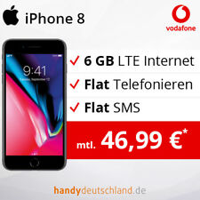 ❤️ Apple iPhone 8 | 6 GB LTE max. 500 MBit/s | Vodafone Vertrag + Smartphone ❤️