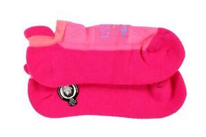 Balega 263562 Women Pink Hidden Comfort No Show Running Socks Size Medium