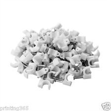 100 Stück Kabelklemmen Nagelschellen Kabelschellen 6mm Kabelschelle Kabelklemme