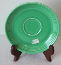 Vintage 30's FIESTA ORIGINAL GREEN GLAZE SAUCER