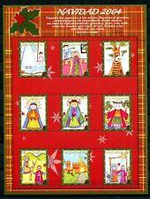 Kolumbien Colombia 2004 Weihnachten Kinderzeichnungen Christmas 2347-2355 MNH
