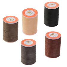 5Pcs Waxed Thread 0.65mm Polyester Cord Sewing Stitching Leather Bracelet