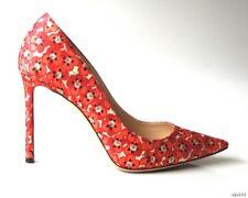 6b0fa71ecba NIB  750 JIMMY CHOO Romy coral floral satin pointy toe shoes 39 9 8.5 -  classy