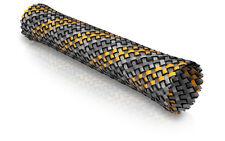 ViaBlue Geflechtschlauch orange Big Meterware ( pro Meter) Sleeve