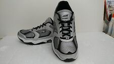 MENS SHOES-AVIA AVI-TANGENT ATHLETIC SHOES-SILVER/BLACK 7 4EW-NEW W/TAG
