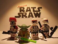 Lego Star Wars minifigures  Clone Custom Troopers AMBUSH (Yoda,Thire,Rys,Jek)
