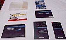 2012 HYUNDAI ELANTRA OWNER MANUAL 7/PC.SET&PLASTIC HYUNDAI CLEAR CASE.NEVER USED