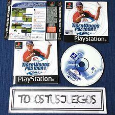 Tiger Woods Pga Tour Golf Playstation Play Station Psone EXCELENTE CONDICION