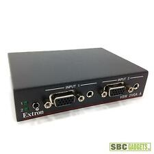 Extron VSW 2VGA A Two Input VGA and Stereo Audio Switcher (P/N: 60-758-01)