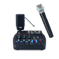 Professional Single Channel UHF Wireless Microphone System for Karaoke Party
