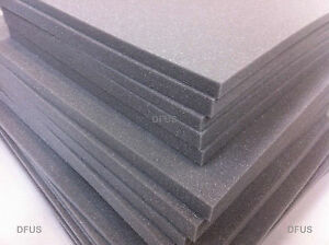 GREY PACKAGING FOAM SELECT A SIZE & DEPTH FLIGHT CASES, TOOL CASES, CAMERA CASES