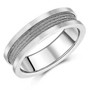 7mm Titan Edelstahl Kabel Ring