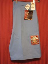 New Dickies Big Mens Multi Pocket Work Shorts With Scotch Grad Sz 46 Light Blue