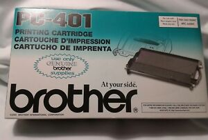 Brother Printing Cartridge PC-401 For Fax-560/580MC/MFC-660MC New !