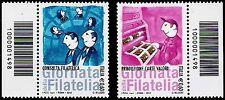 Italia 2012 - Giornata della Filatelia - Codice a Barre 1498
