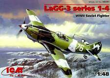 Lavochkin LAGG 3 serie 1-4 (af soviético Verano e Invierno Camo) 1/48 ICM