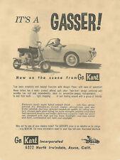 Vintage 1960's Go-Kart Gasser Mini-Bike Ad