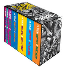 Harry Potter: The Complete Collection Adult UK Edition Boxed Slip Case Set NEW!
