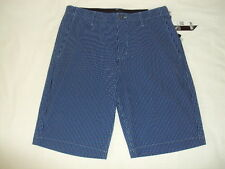 VOLCOM SURF FRUCKIN V4S 4 WAY STRETCH STRIPES HYBRID WALK SHORT size 32 AA32 $55