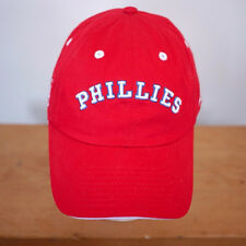 NEW ERA Fits Philadelphia Phillies MLB Cotton Blend Baseball Hat One Size Adjust