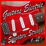 cordes pour guitare électrique 22.9-107cms Super faible CALIBRE nickel
