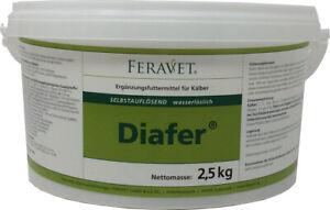 Feravet® Diafer® Elektrolyttränke 2,5 kg Ergänzungsfuttermittel für Kälber