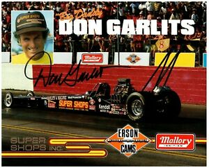 Big Daddy DON GARLITS Hand Signed 8X10 Photo NHRA Drag Racing Champion Autograph