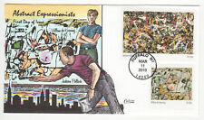 SSS: Collins HP FDC  2010  44c  Abstract Expressionists   Pollock      Sc # 4444