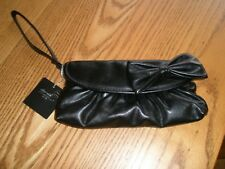 Nuevo-New Look Negro Embrague Bag BNWT