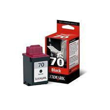 Cartucho de tinta Lexmark Nº 70 Negro ORIGINAL - GENUINE