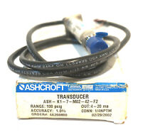 NEW ASHCROFT ASH-KI-7-MO2-42-F2 TRANSDUCER ASHKI7MO242F2